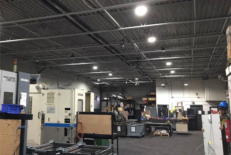 LED warehouse lighting solutions