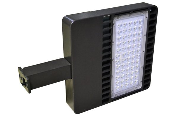 50000 hours led shoebox light fixture