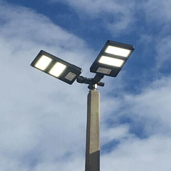 Light Pole Led Fixtures: LED Pole Light 300W For Car Dealership Lighting DLC UL