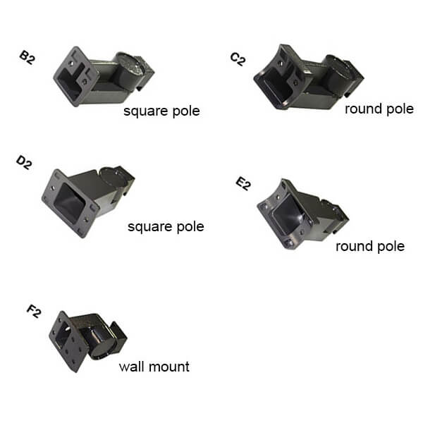 parking lot light mounting brackets