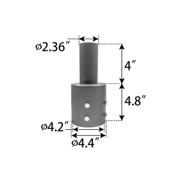 tenon mount adapter